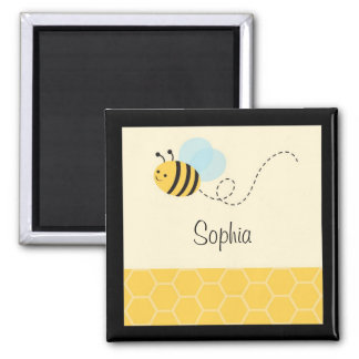 Sweet Bumble Bee Party Favor Magnets