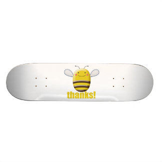 Sweet Bumble Bee Says Thanks Custom Skate Board