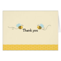 Sweet Bumble Bee Thank You Note Cards