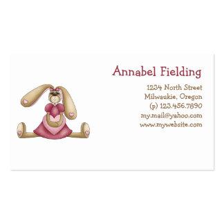 Sweet Bunnies · Bunny & Heart Business Card Templates