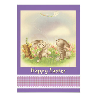 Sweet Bunnies Easter Invitation