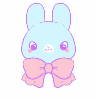 Sweet Bunny Acrylic Cutout