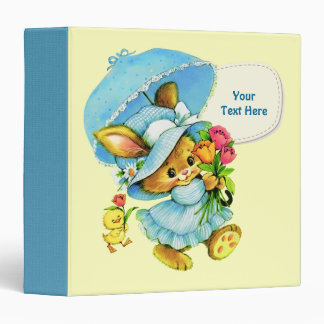 Sweet Bunny and Chick. Mother's Day Gift Binders