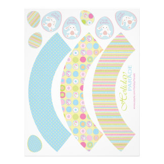 Sweet Bunny Cupcake Wrappers 2