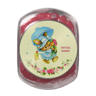 Sweet Bunny. Mother's Day Gift Candy Tins