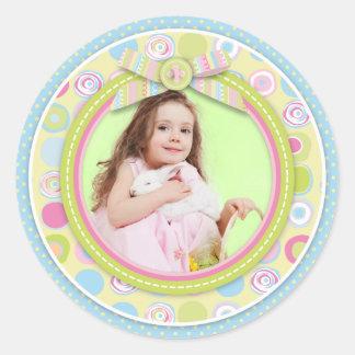 Sweet Bunny Photo Sticker R