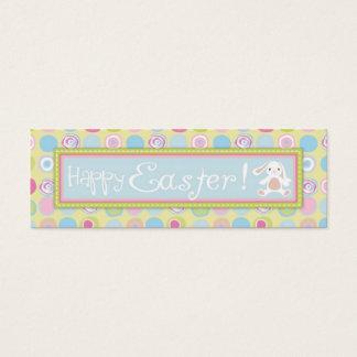 Sweet Bunny Skinny Gift Tag