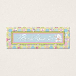 Sweet Bunny Skinny Gift Tag 3