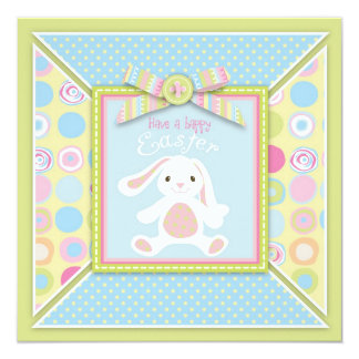 Sweet Bunny Square Card