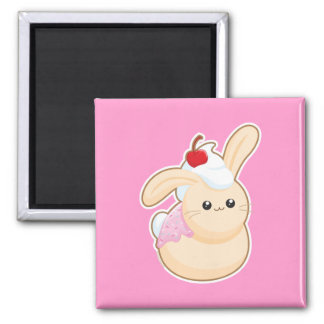 Sweet Buns 2 Inch Square Magnet
