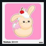"""Sweet Buns Wall Sticker<br><div class=""""desc"""">This bunny is such a sweetie!</div>"""