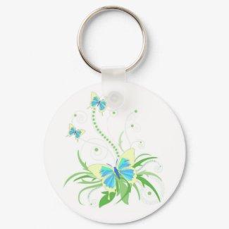 Sweet butterflies keychain