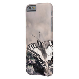 Sweet butterfly redish tone Design phone more Barely There iPhone 6 Case