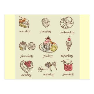 Sweet-Cake5 Tarjeta Postal