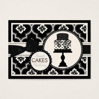Sweet Cake Business Card Black CR