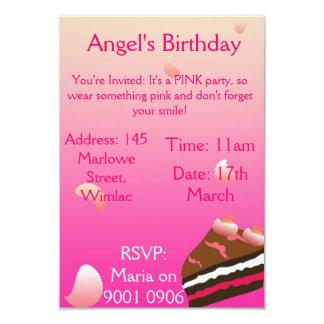 Sweet Cake Invite
