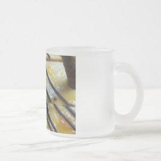 Sweet Cake 10 Oz Frosted Glass Coffee Mug