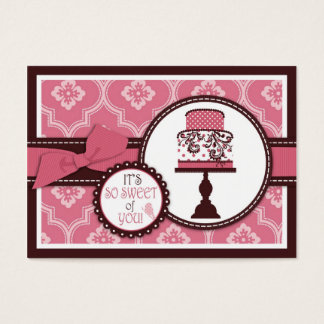 Sweet Cake TY Gift Tag
