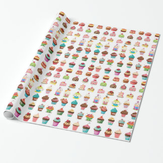Sweet Cake Wrapping Paper