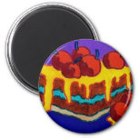 Sweet Cakes 2 Inch Round Magnet