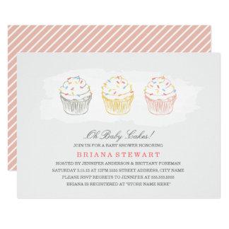 Sweet Cakes Baby Shower Invite
