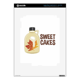 Sweet Cakes Decal For iPad 3