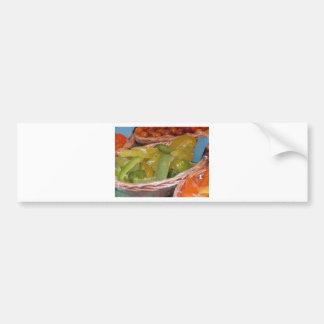 Sweet candied cedar peels . Italian recipe Bumper Sticker