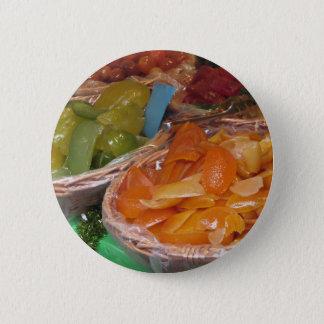 Sweet candied fruit peels . Italian recipe Button