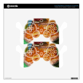 Sweet candied orange peels . Italian recipe Decal For PS3 Controller