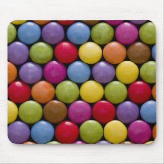 Sweet candies mouse pad