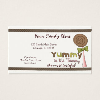 Sweet Candy Business Card