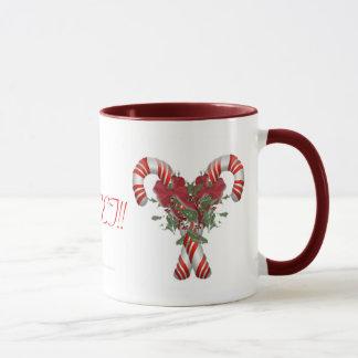 Sweet! Candy Cane Drinkware Mug