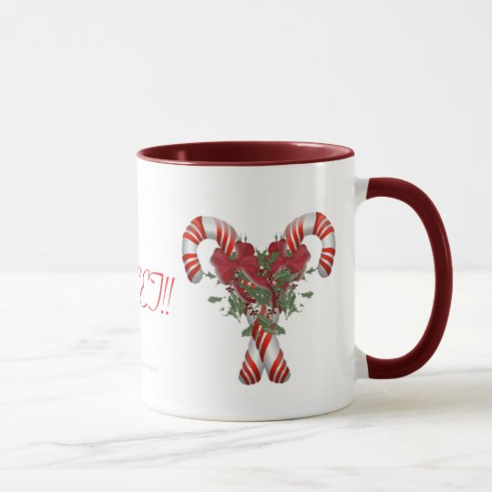 Sweet! Candy Cane Drinkware Mug
