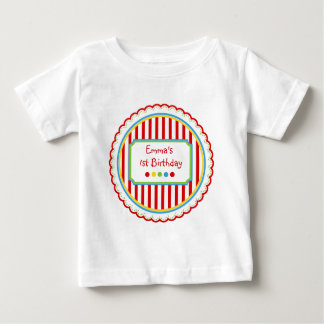 Sweet Candy  Circus Stripes Baby T-Shirt