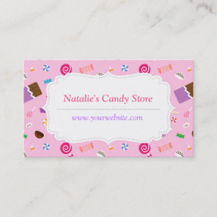 Sweets Business Cards Zazzle