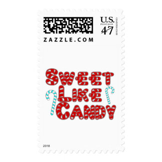 Sweet Candy Postage Stamp