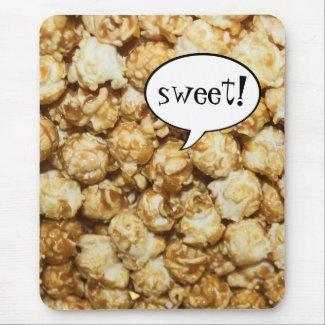 Sweet Caramel Popcorn Mousepad