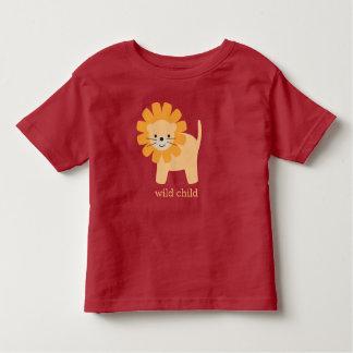 Sweet Cartoon Lion Toddler T-shirt