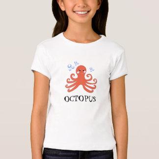 Sweet Cartoon Octopus T-Shirt