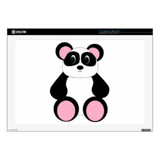 Sweet Cartoon Panda Bear Skins For Laptops