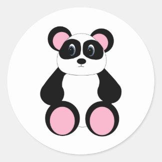 Sweet Cartoon Panda Bear Stickers