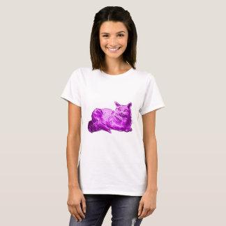 sweet cat british shorthair kitty cartoon style il T-Shirt