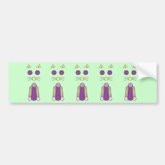 Sweet Cat Bumper Sticker