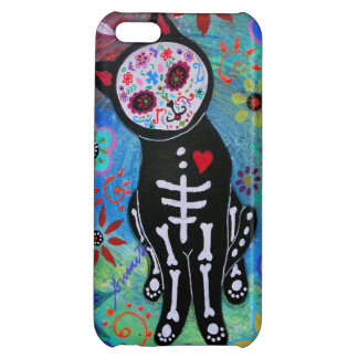 SWEET CAT EL GATO DAY OF THE DEAD iPhone 5C COVER