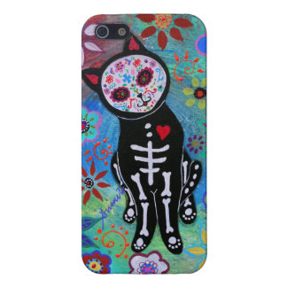 SWEET CAT EL GATO DAY OF THE DEAD CASE FOR iPhone 5