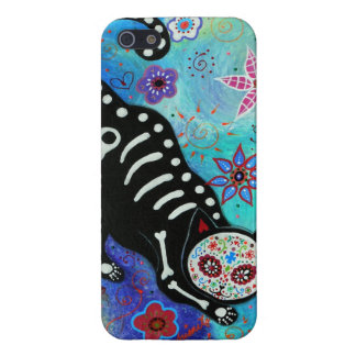 SWEET CAT EL GATO DAY OF THE DEAD COVERS FOR iPhone 5