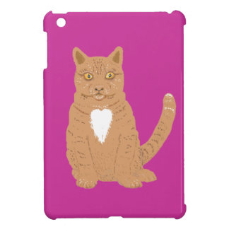 Sweet Cat on almost everythiing imaginable. iPad Mini Covers