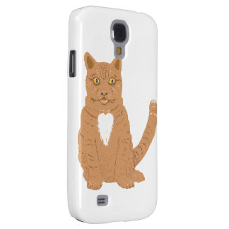 Sweet Cat on iPhone cases & everythiing imaginable Samsung Galaxy S4 Cover