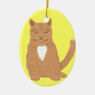 Sweet Cat on ornaments & everythiing imaginable.