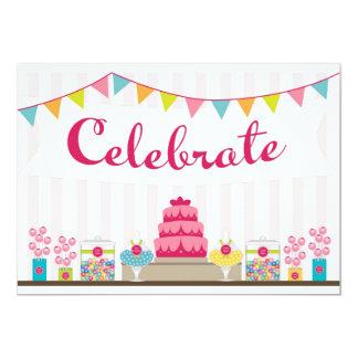 Sweet Celebration Invitation